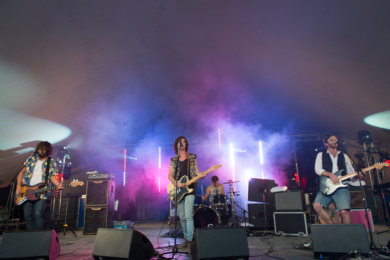 tribes lounge on the farm festival 2013