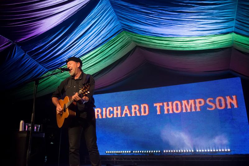 richard thompson at Moseley Folk Festival 2014