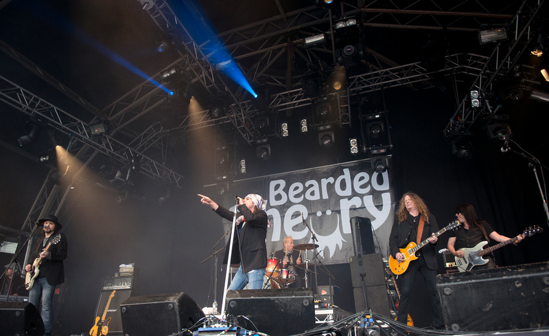 the quireboys Bearded Theory Festival 2013