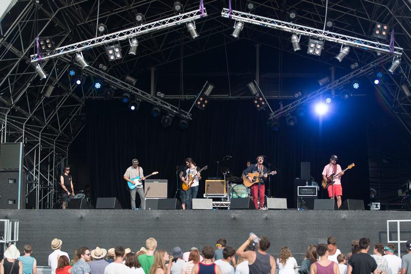 Frankie & The Heartstrings truck festival 2013
