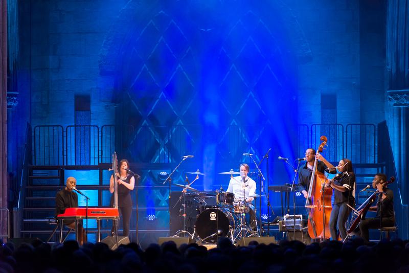laura mvula at the lichfield cathedral (lichfield festival) 2013