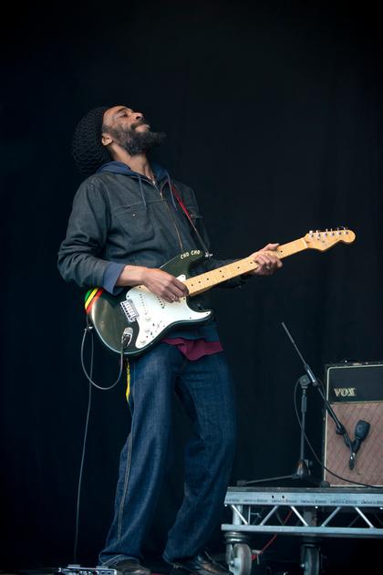 macka b & the reggae roots band Bearded Theory Festival 2013