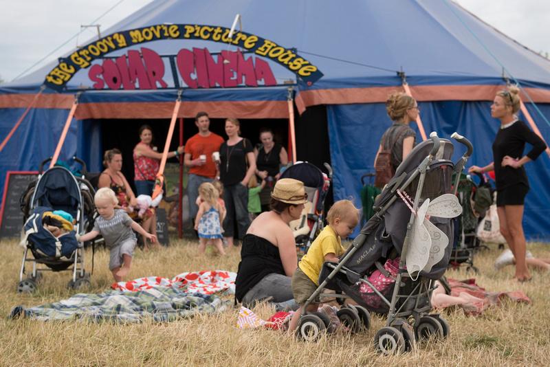 around the lounge on the farm festival 2013