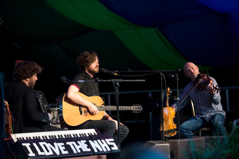 lau at Moseley Folk Festival 2014