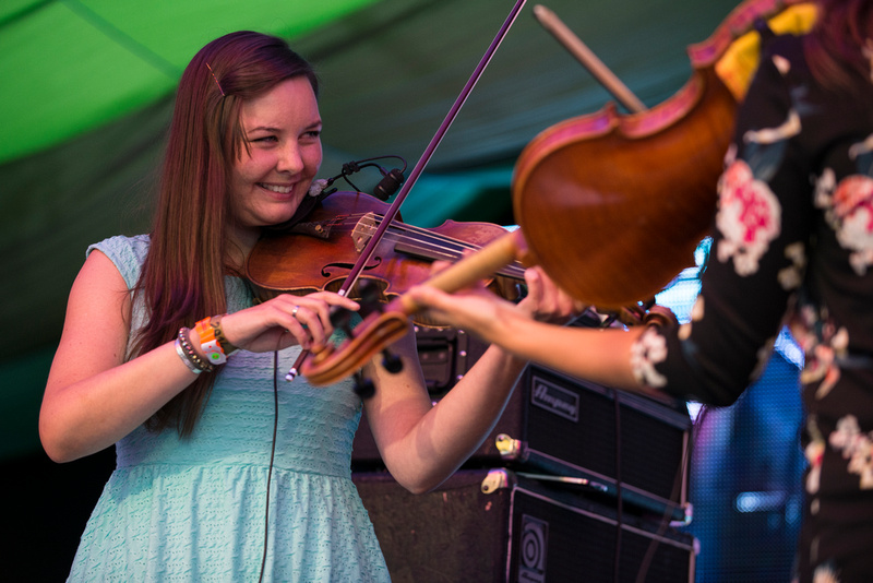 the old dance school at Moseley Folk Festival 2014