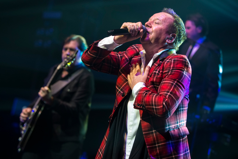Simple Minds at the New Theatre, Oxford