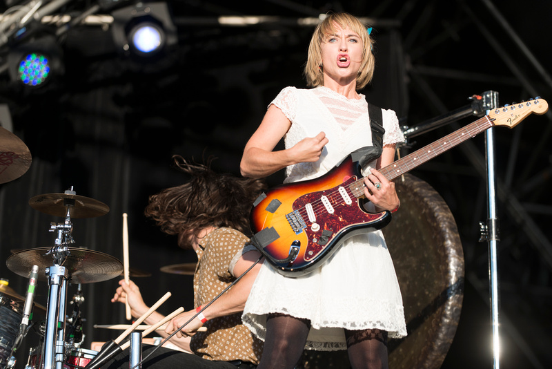 The joy formidable truck festival 2013