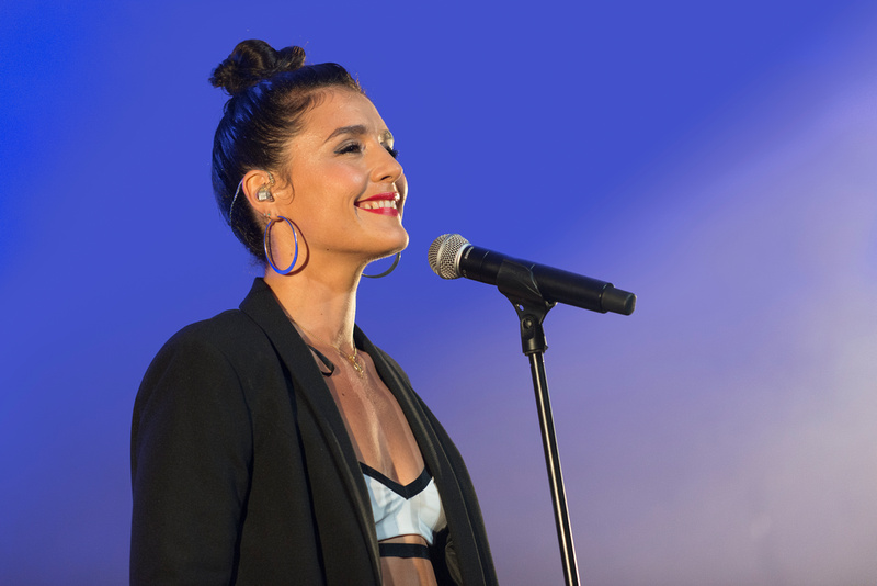 jessie ware lounge on the farm festival 2013