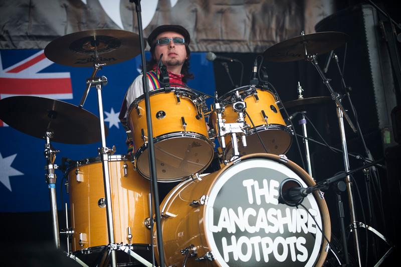 lancashire hotpots Bearded Theory Festival 2013