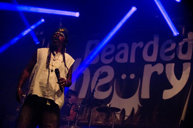 asian dub foundation Bearded Theory Festival 2013