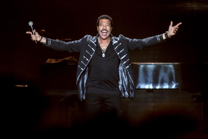 Lionel Richie at Barclaycard Arena, Birmingham