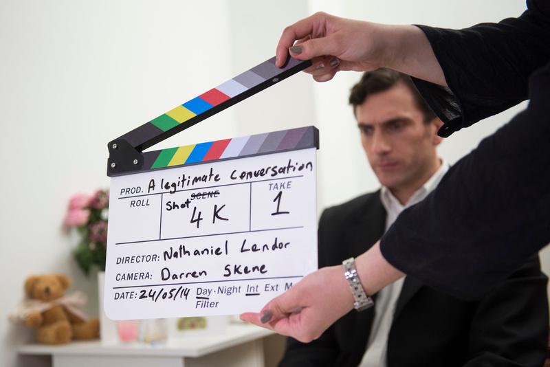 Film Set: A Legitimate Conversation