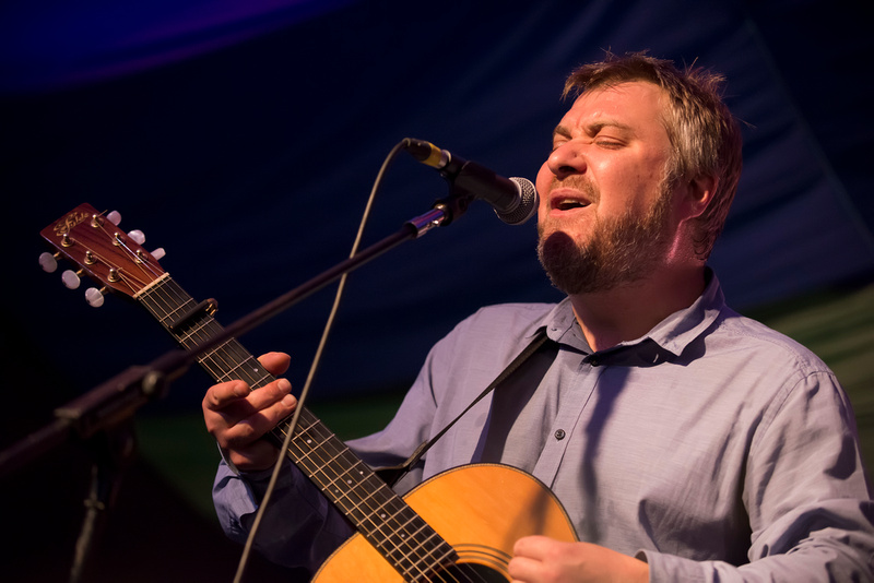 jimi goodwin at Moseley Folk Festival 2014
