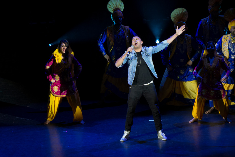 Bhangra Showdown 2014 at the Hammersmith Apollo, London
