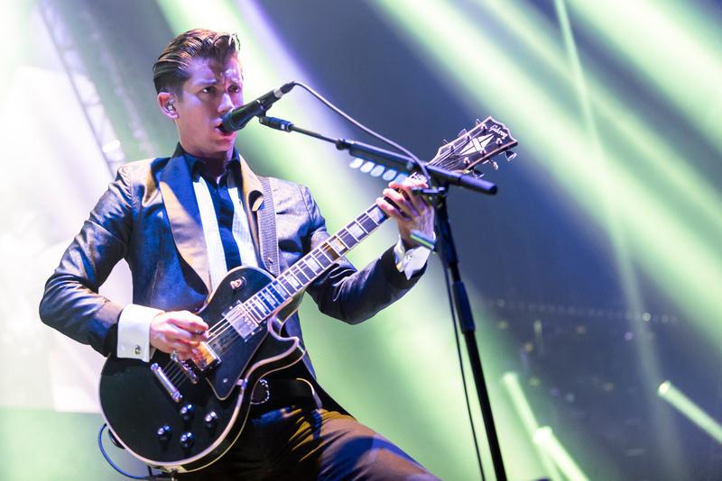 Arctic Monkeys at the LG Arena, Birmingham