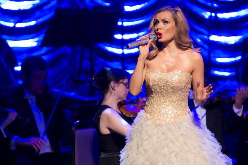 Katherine Jenkins and support John Owen-Jones at New Theatre, Oxford