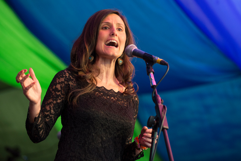 deborah rose at Moseley Folk Festival 2014