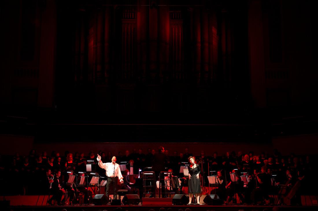 Piaf - The Concert at the Town Hall, Birmingham. Nikon D800